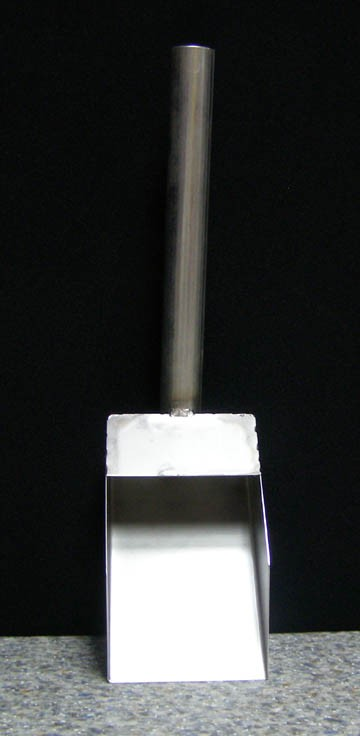 Stainless Steel Scoop - Small-0